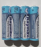 Батарейка АА RAYMAX R-6 коробка 1x4шт /4/60/1200шт.