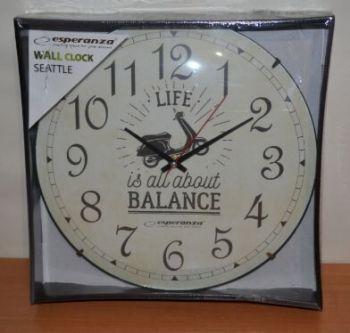 Часы настенные Esperanza SEATTLE ЕН-C018S /1/