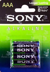 Бат SONY Alkaline LR-03 блистер 1х4шт /4/48/192/