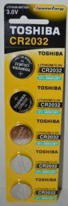 Батарейка Toshiba CR-2032 Lithium 1х5шт /1/5/50/