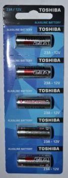 Бат Toshiba 23А Alkaline 1х5шт /1/5/50/