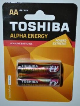 Бат Toshiba Alfa energy LR-6 блистер 1х2шт /2/20/