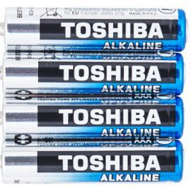 Батарейки Toshiba Alkaline LR-03 коробка 1х4шт /4/60/