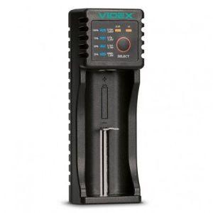 З/У Videx VCH-U100 1*AA/AAA/C/SC/ NiCd/NiMh/Li-ion/IMR/LiFePO4 1000mAh