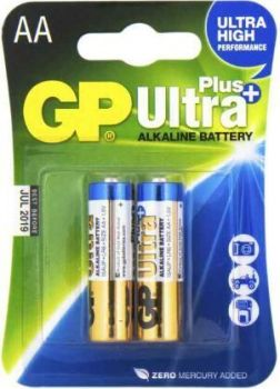 Бат GP Ultra Alkaline Plus LR-6 блистер 1х2шт /2/20/160/