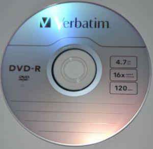 Медиа DVD-R Verbatim 4.7Gb 16x Bulk 50 /1/50/