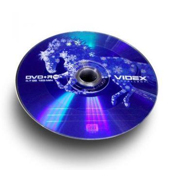 Медиа DVD+R Videx 4.7Gb 16x Лошадь Bulk 50 /1/50/