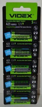 Батарейка Videx 23A блистер 1х5шт /1/5/50шт.
