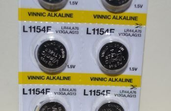Часовая батарейка Vinnic АG13 (LR44) блистер 1х10шт /2/10/200/